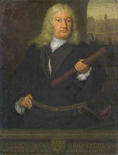 Willem van Outhoorn Dutch colonial governor