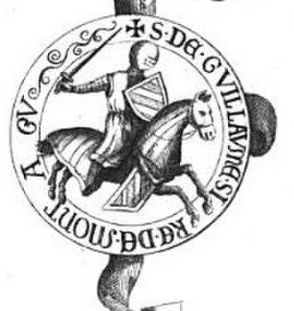 William Montagu, 1st Earl of Salisbury - Image: William of Montagu