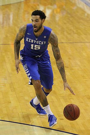 Willie Cauley-Stein - Cauley-Stein in 2015 with Kentucky