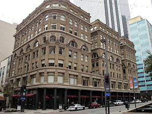 Titche-Goettinger - The Wilson Building at Main and Ervay Streets in downtown Dallas housed Titche-Goettinger between 1904 and 1929. Today it is a luxury-apartment building.