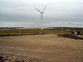 Wind Turbine in Whitelee Windfarm - geograph.org.uk - 1542031.jpg