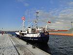 Wismar Seehafen Schiff Riesenhai 2012-12-05 013.JPG