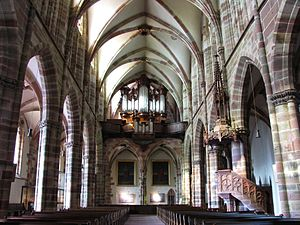 St. Peter and St. Paul's Church, Wissembourg - Image: Wissembourg St Pierre Paul 111a