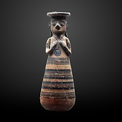 Woman-shaped vase-AM 827