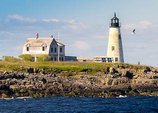 Wood Island Light lighthouse in Maine, United States