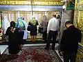 Worshippers in Bibi Heybat Mosque - Baku - Azerbaijan (17781774008).jpg