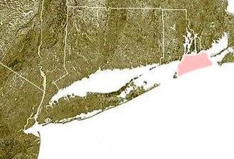 Rhode Island Sound - Rhode Island Sound, shown in pink