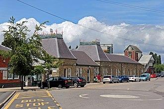 Wrexham General railway station - Wrexham General railway station