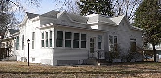 National Register of Historic Places listings in Merrick County, Nebraska - Image: Wright Morris house from SE 2