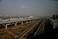 Xianlin-Nanjingnan Railway and Beijing-Shanghai High-speed Railway go in parallel.jpg