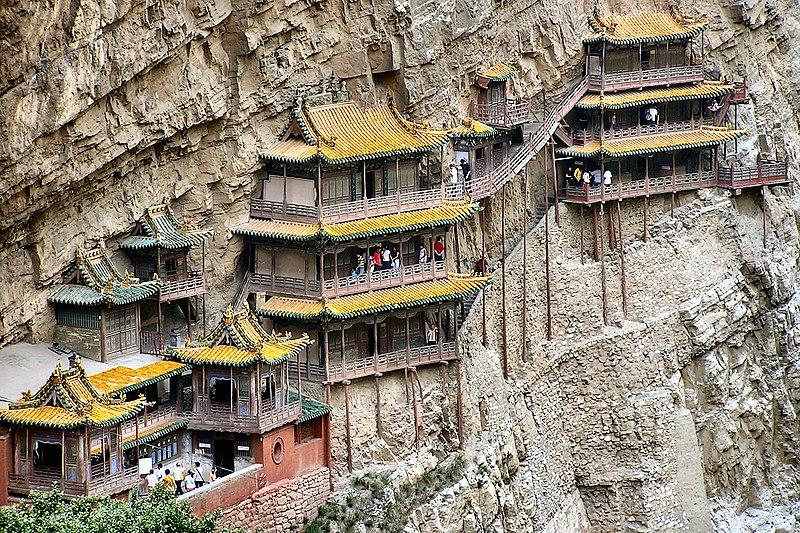 中国六大悬崖寺庙