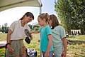 YOUNG GIRLS PETTING OWL-COLUMBIA RIVER GORGE (25032418951).jpg