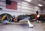 Yakovlev Yak-11 Yakovlev Yak-11 (Czech built C.11) NX25YK Palm Springs CA Jul99 (17150819131).jpg