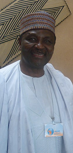 Yakubu Gowon during the Friends of Global fund Africa meeting in Kigali.jpg
