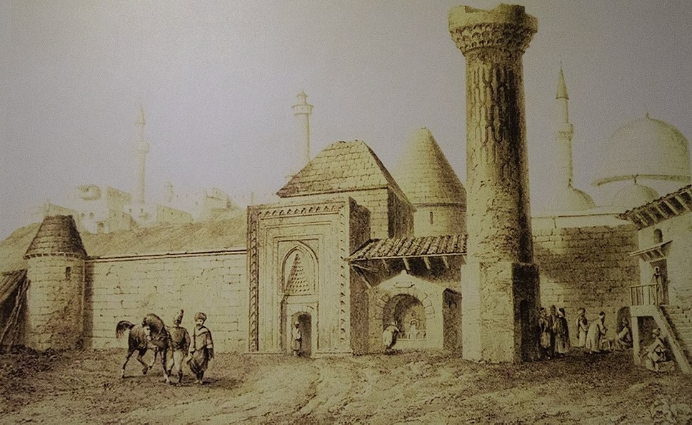 Yakutiye Madrasah in 1840.jpg