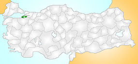 Yalova Turkey Provinces locator.jpg