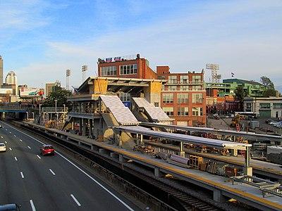 Railroad Net View Topic Fenway Center Yawkey Station