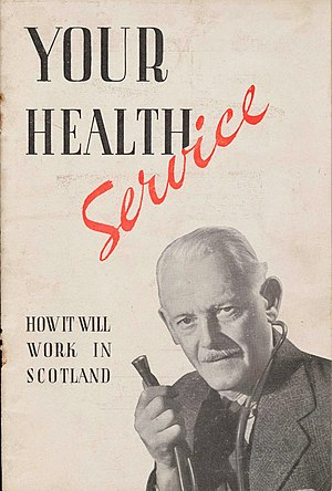 "History of NHS Scotland - ""Your Health Service: How it will work in Scotland"", 1948"