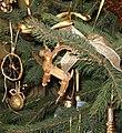 Yule Goat on the christmas tree.JPG