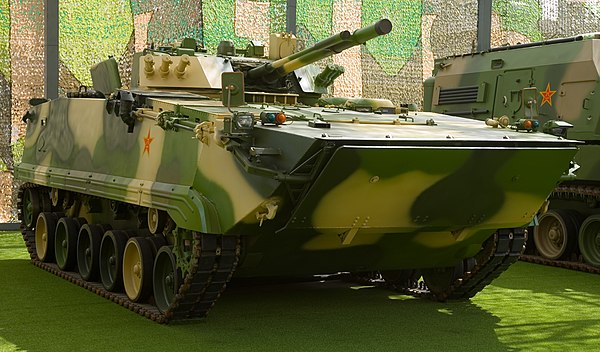zbd 04 infantry fighting vehicle - HD 3845×2256