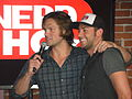 Zachary Levi and Jared Padalecki (5986087179).jpg