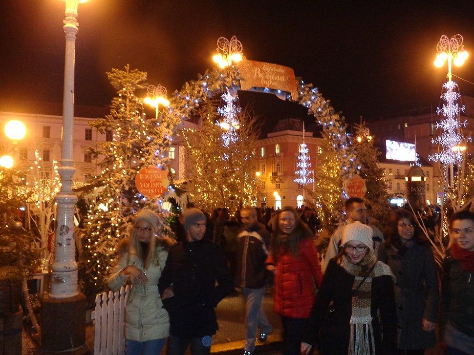 Zagreb, Jelačićev plac - Božićni sajam 2015