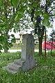 Zdewastowany pomnik Armii Czerwonej przy ulicy Elizy Orzeszkowej w Będzinie 1.jpg