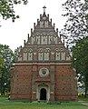 Zespół zamkowy (XV-XVIw.) kościół p.w. św. Ducha (1540r.) - Kodeń powiat bialski woj. lubelskie ArPiCh A-55.JPG