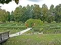Zespół zamkowy (XV-XVIw.) ogród (fot. 2) - Kodeń powiat bialski woj. lubelskie ArPiCh A-55.JPG