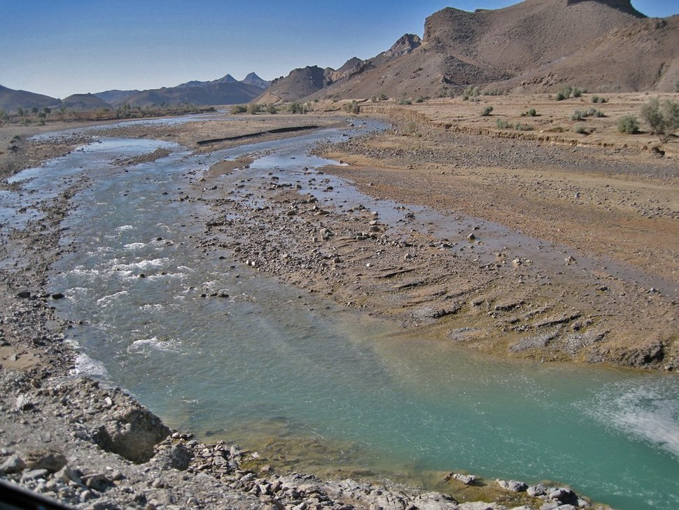 Zhob river in northern balachistan %26 running in KPK
