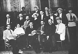 Yakov Sverdlov - Yakov Sverdlov and Grigory Zinoviev on The Fifth All-Russian Congress of Soviets