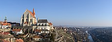 Znojmo Old Town Panorama from Castle 20190217.jpg