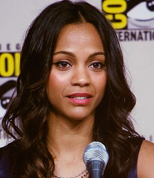 "Zoe Saldana - Saldana at the ""Entertainment Weekly: Wonder Women: Female Power Icons in Pop Culture"" panel, Comic-Con 2009"