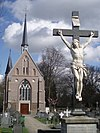 foto van R-K Kerkhof, kruisbeeld