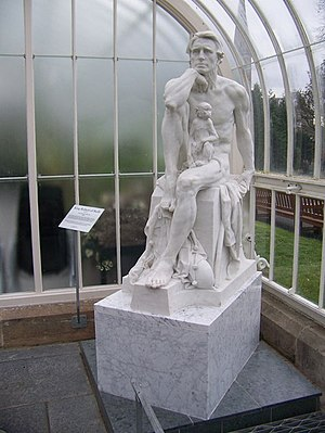 """George Henry Paulin - Paulin's """"King of Sicily"""" in the Kibble Palace"""