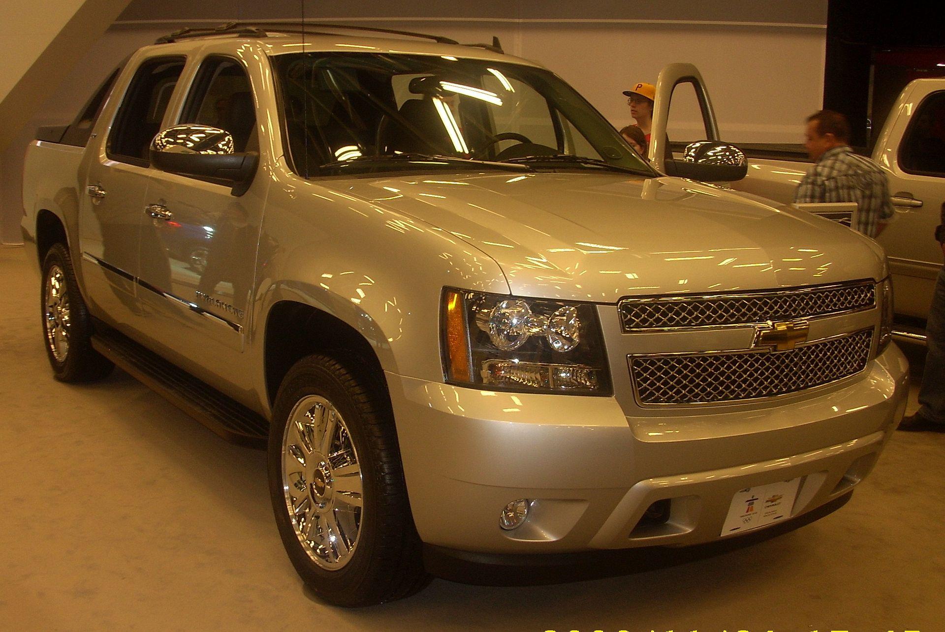 Chevrolet Avalanche - Wikipedia, la enciclopedia libre