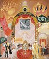 'The Cathedrals of Broadway' by Florine Stettheimer, 1929.jpg