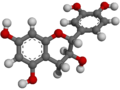 (+)-Catechin - 3D - Ball-and-stick Model.png