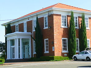 Pagewood, New South Wales - Club house at Bonnie Doon Golf Course, Banks Avenue