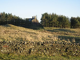 Milecastle 30 - The site of Turret 30B
