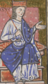 Æthelflæd as depicted in the cartulary of Abingdon Abbeycrop.png