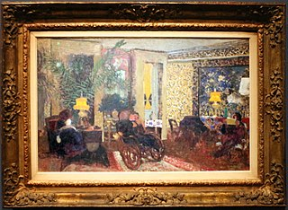 The living room with three lamps, rue saint-florentin