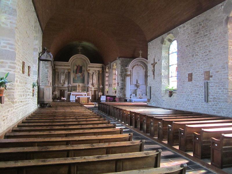 église Saint-Léonard (XIXème) de Reffuveille, MAnche