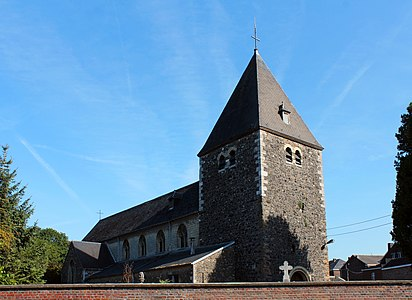 Église Saint-Lambert de Lixhe - vue arrière.JPG