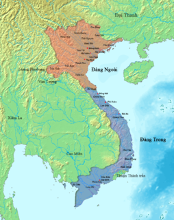 Trịnh–Nguyễn War Civil war between feudal clans in Vietnam