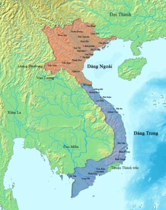 Đàng Ngoài - Đàng Trong and Đàng Ngoài (1757).