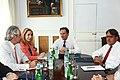 Πρώτη συνάντηση της νέας ηγεσίας του Υπουργείου Εξωτερικών (4967872834).jpg