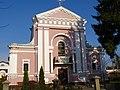 Бердичів, вул. Європейська 25, Костел св. Варвари в якому в 1850 році вінчався Оноре де Бальзак.jpg