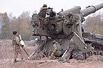 """Бойові стрільби артилерійських підрозділів на полігоні """"Дівички"""" (30052739823).jpg"""