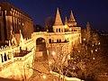 Венгрия (Magyarorszag), Будапешт (Budapest), I. kerület, Рыбацкий бастион (Halászbástya), 16-57 08.01.2006 - panoramio.jpg